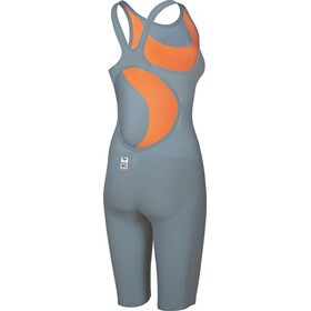 arena Powerskin R-Evo One Swimsuit Damer, grey-bright orange